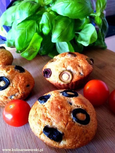 Muffinki-z-oliwkami