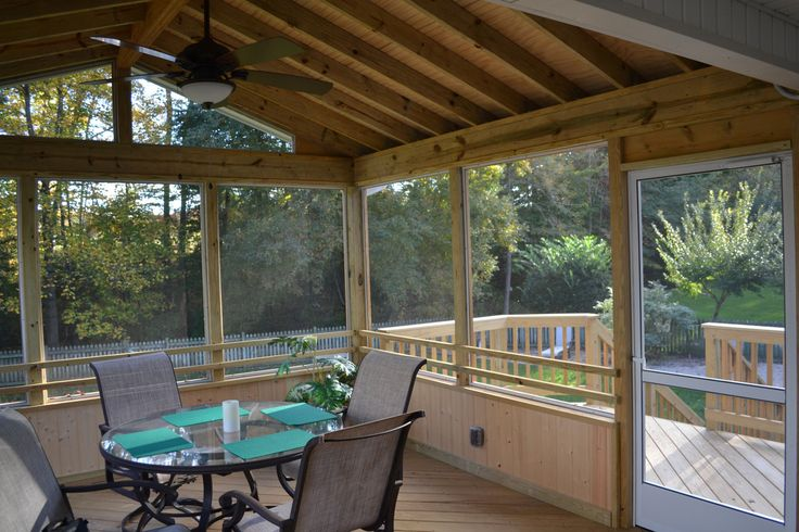52 best raleigh durham porch builder images on pinterest for Balcony noise reduction