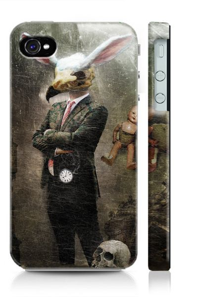 iPhone Cover – The White Rabbit