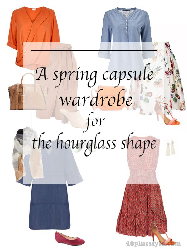 spring capsule for the hourglass body shape | 40plusstyle.com