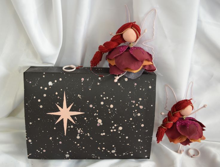 Fairy doll decoration + gift box ❤