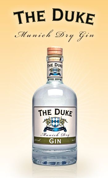 A gin made purely from organic ingredients and produced by a small distillery in Munich.
