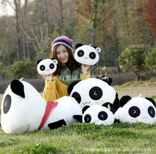 ==> [Free Shipping] Buy Best 55cm-High quality hot sale Panda plush toy doll stuffed toy doll gift giant panda stuffed animal free shipping Online with LOWEST Price | 32607858378