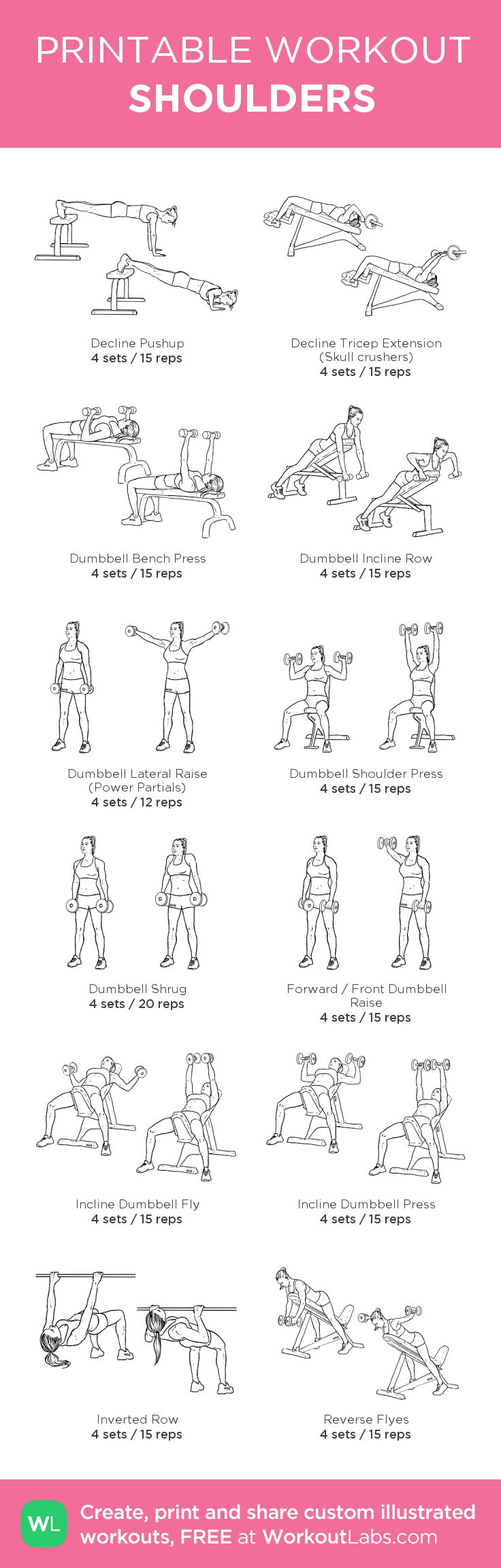 Excerise: SHOULDERS · WorkoutLabs Fit