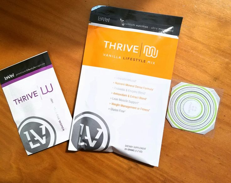 Thrive is not a fad diet or quick fix pill. Thrive is a wellness system that has all the vitamins, minerals and nutrients that your body needs on a daily basis. It fills in your nutritional gaps, it gives your body what it needs. It's a simple 3 step system with 2 capsules in the morning on an empty stomach 20 to 40 minutes later you drink the lifestyle mix and put on the DFT patch and you're done for the day! See why thousands have started THRIVING!