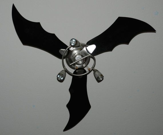 Bat Wing Ceiling Fan Blades Sold Individualy By Batwingblades 10 00 My Style Dark Humor Pinterest And