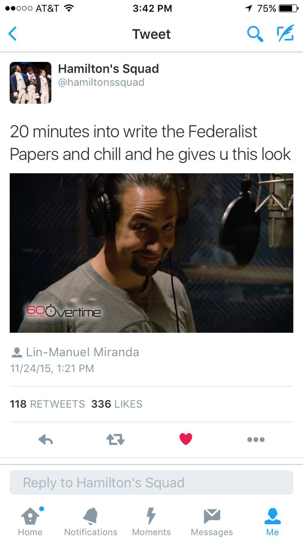 Hamilton- Lin-Manuel Miranda