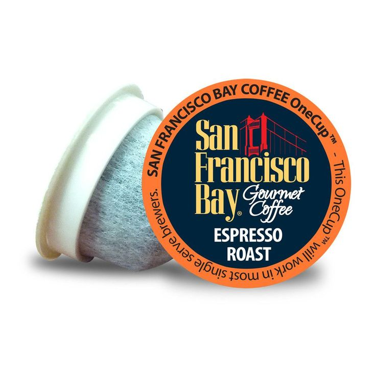 San Francisco Bay Espresso Roast, One Cups for Keurig K-Cup Brewers (2-Pack)