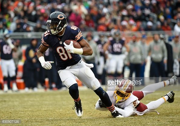 News Photo : Chicago Bears Wide Receiver Cameron Meredith...