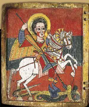 St George, ethiopian