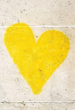 #yellow #heart