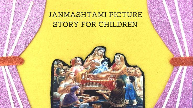 janmashtami picture storytelling of Lord Krishna's birth_KIDSSTOPPRESS1