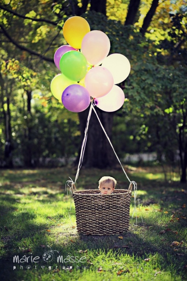 Baby Balloon Basket Amp Baby Fall Photos Www