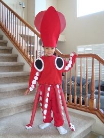 squid. When I have a kid, this will be a costume one year