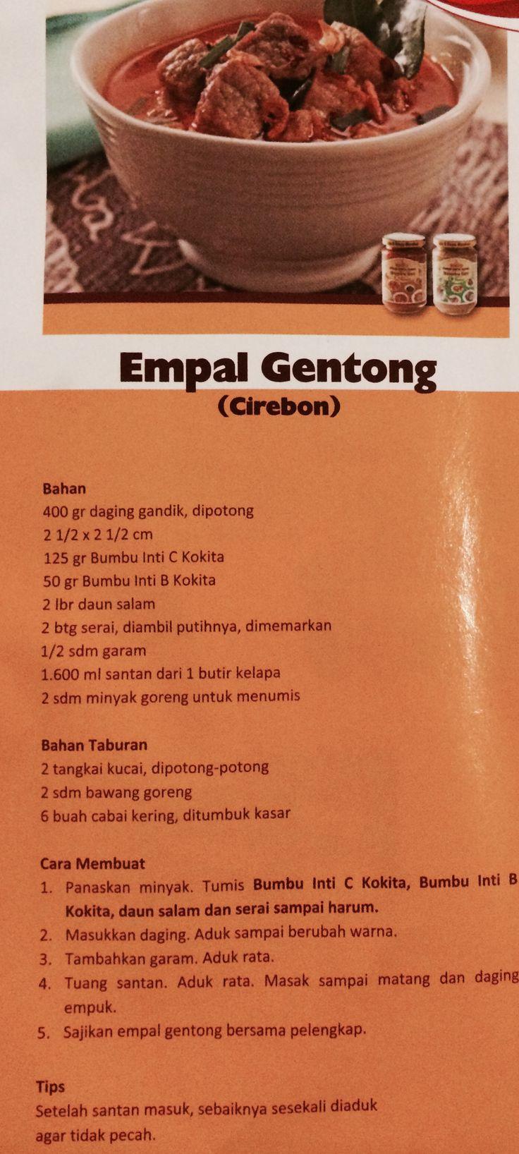 Empal Gentong from Cirebon