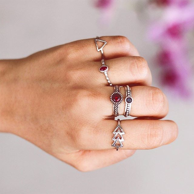 ✽ Combinação delicada dos nossos anéis! ✽ ..... ✧ Valores + Links no 1º comentário ↡↡↡