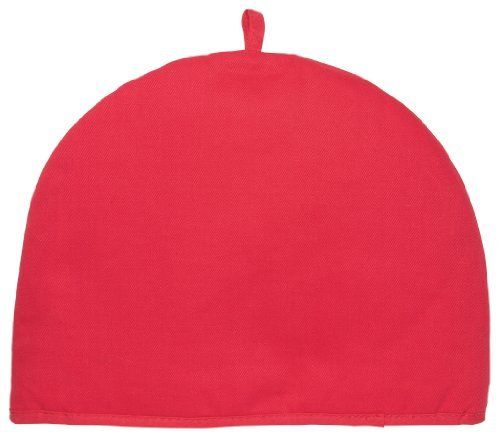 Now Designs Basic Tea Cosy, Red by Now Designs. $13.65. Just pop it over your serving teapot to keep the tea warmer, longer. Do not use on stove top. Tea cosy measures 13.5 by 11 inches. Hook for easy storage. Made from 100 percent cotton exterior, polyester insulator fill. For over 45 years, Now Designs has created fashionable, fun, and functional kitchen textiles, table linens, gifts and decorative accessories for the home. Whether it's kitchen basics, fashion...