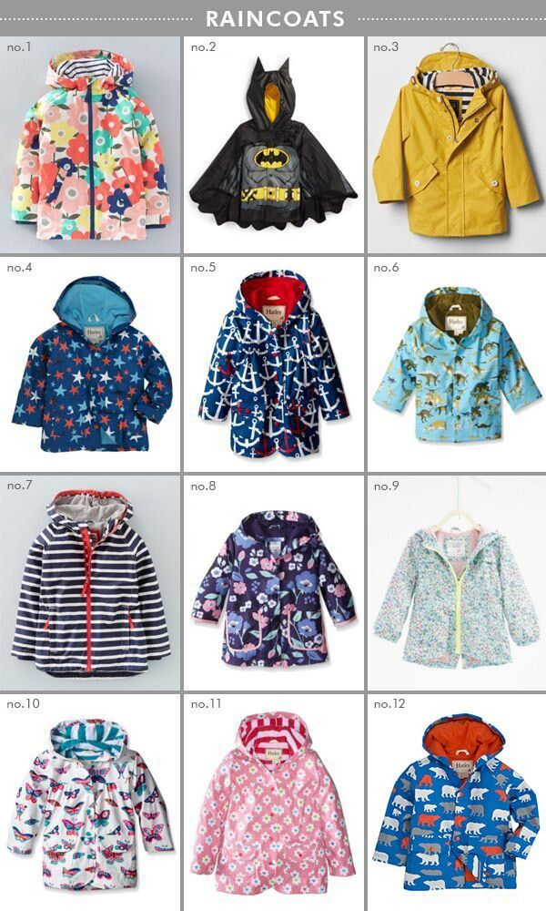 Raincoats for kids | Hellobee