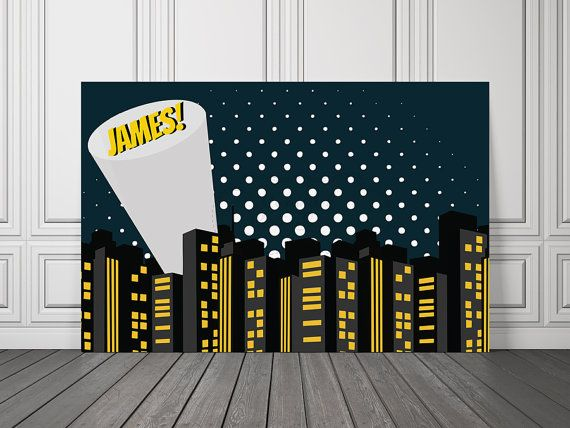 #batmanbirthdaybanner #batmanbackdrop Batman Vinyl Banner / Batkid Backdrop / Superhero Vinyl Backdrop