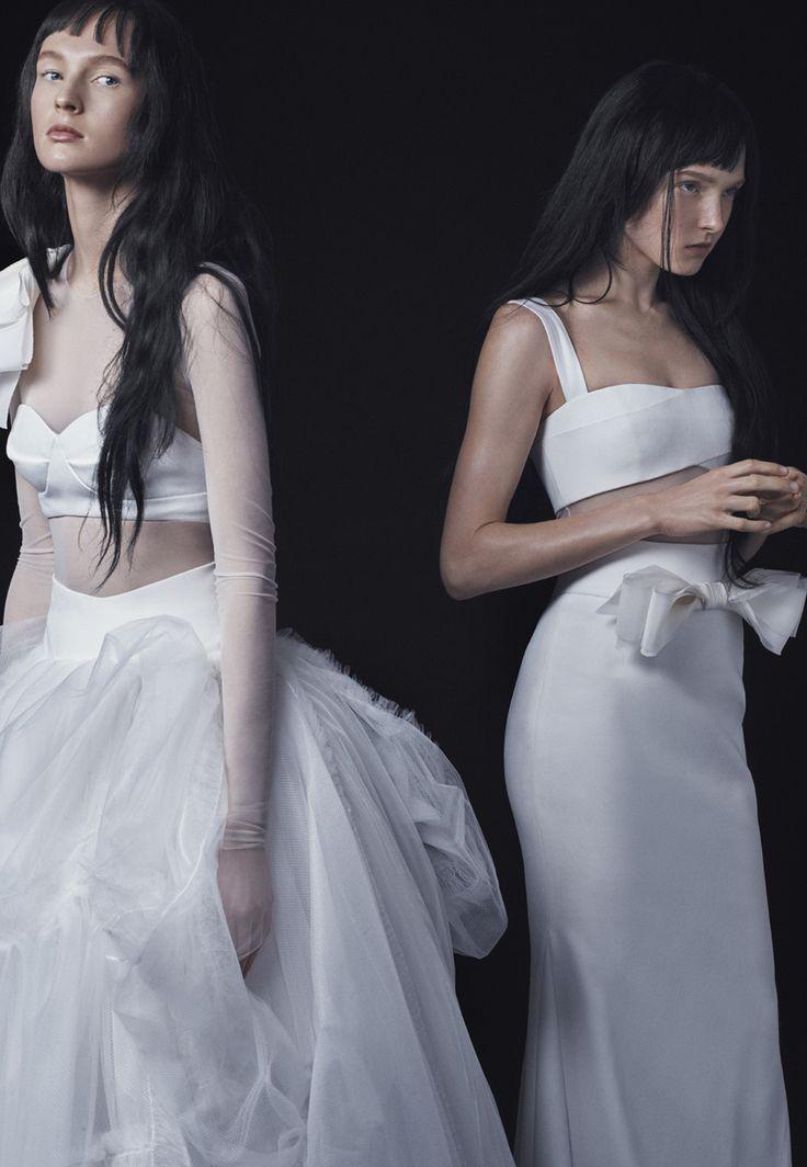 Cute Vera Wang Bridal Fall Fashion Show Look