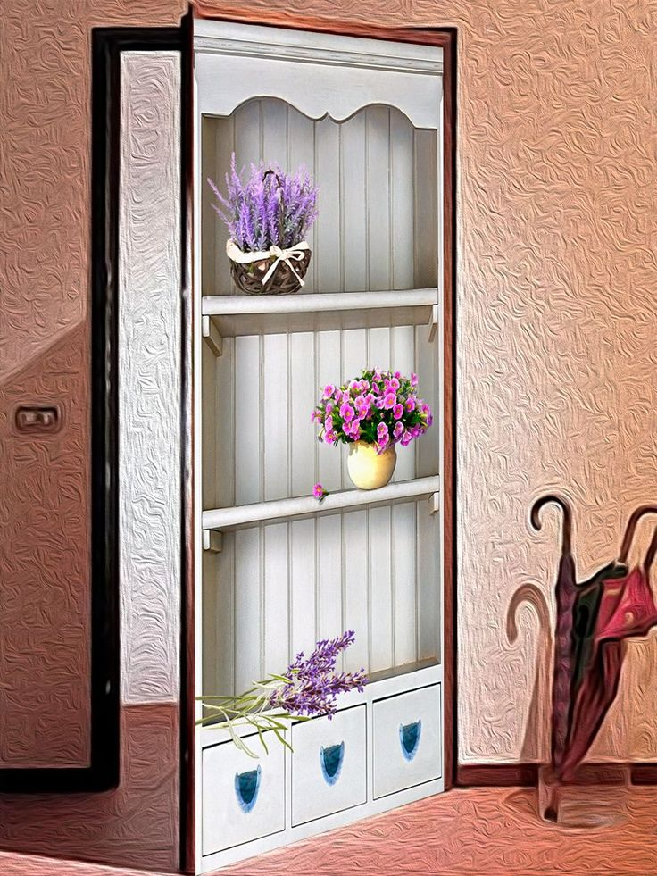 door sticker - Venice 1, Wallpaper Door Mural vinyl sticker | by X-decor