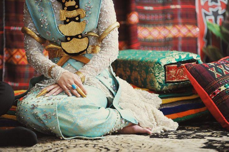 Shades of Blue Wedding at Gran Mahakam - akad 2