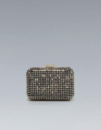 @Lauren C...Yvonnes wedding??? JEWELLED PARTY BOX BAG - Evening - Handbags - Woman - ZARA United States