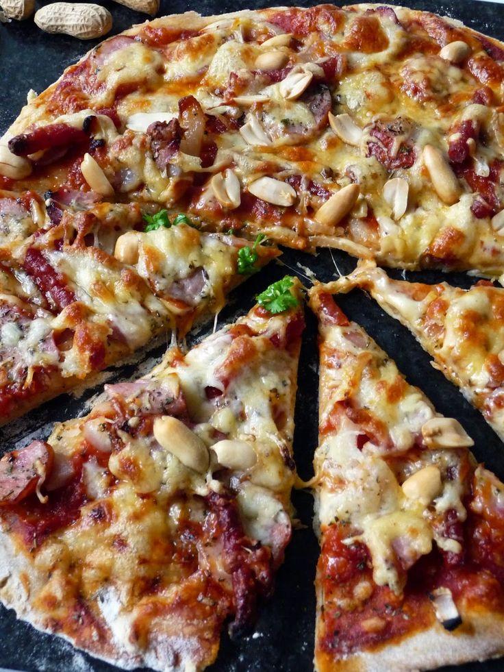 Pyry na Gaz: Pizza pszenno-żytnia z orzeszkami