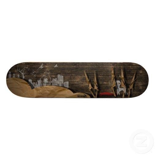 SkateWooD Skateboard