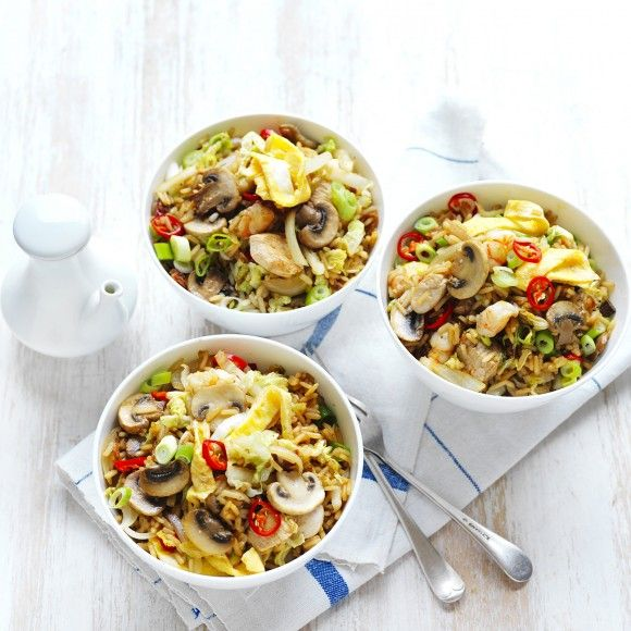 Mushroom+Fried+Rice
