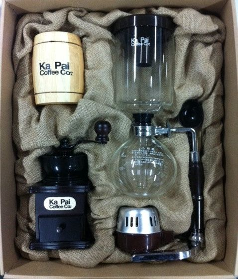 Ka Pai Coffee Co  Vintage Siphon Coffee Maker by KaPaiCoffeeCo, $49.99