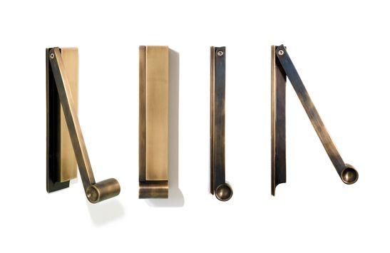 Pendulum Door Knocker: this door knocker brings craftsmanship