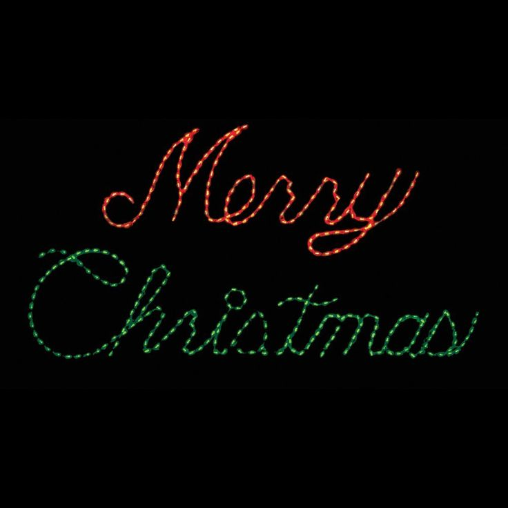 Christmas Lighted Sign.Merry Christmas Rope Light Sign Google Search Holiday
