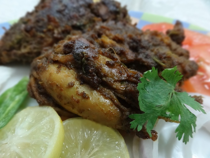 Spicy Chicken Indian Style! Find out more at Three Peppercorn.