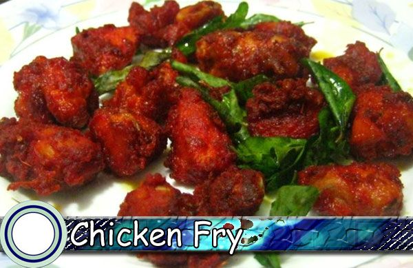 Chicken Fry Recipe In Hindi Chicken Fry Andhra Style Kodi Vepudu