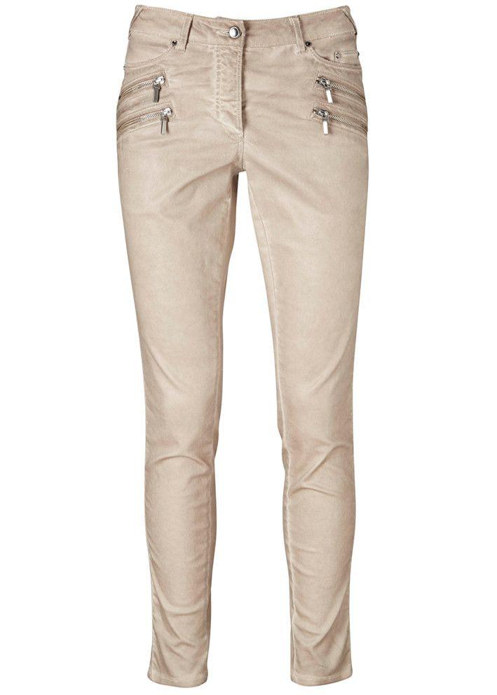 Gustav Coated 5-pocket Pants 16009 latte – acorns