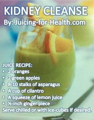 Kidneys Detox Drink — Juicing For Health by Katherine Gray