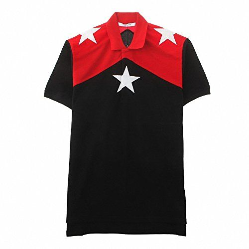 (ジバンシィ) GIVENCHY 7201 655 001 ポロシャツ スターポイント 半袖 Tシャツ ブラック&レッド (並行輸入品) RICHJUNE (M) GIVENCHY(ジバンシー) http://www.amazon.co.jp/dp/B014A4929Q/ref=cm_sw_r_pi_dp_RbN3vb07FBFPD