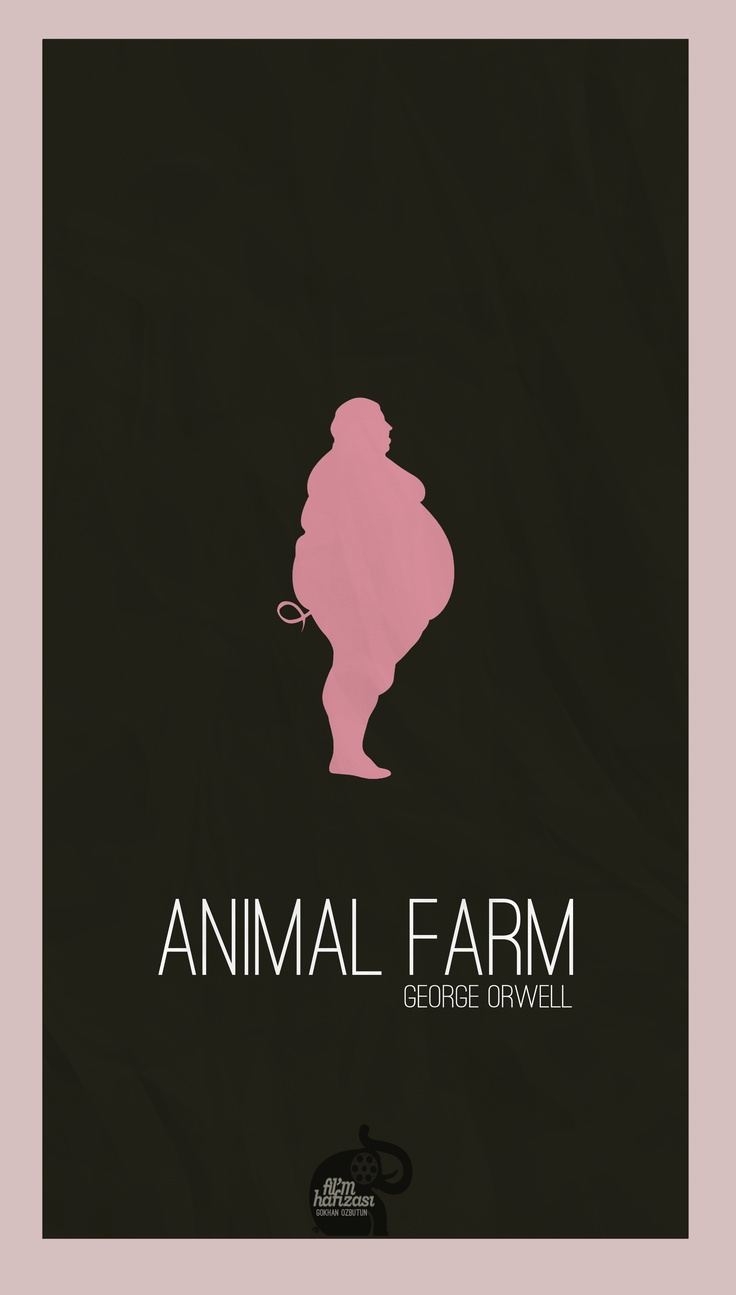 What is Orwell's tone and style of writing in Animal Farm?
