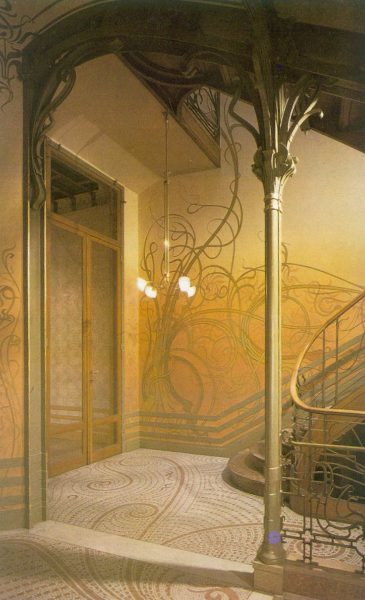 Victor Horta - Tassel House, Brussels - 1892-1893 - Art Nouveau in Brussels