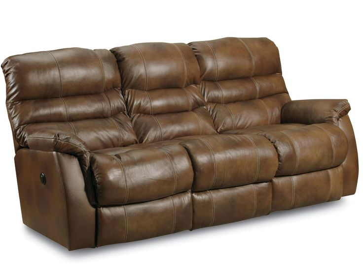 Lane Furniture Leather Reclining Sofa Han Double Reclining
