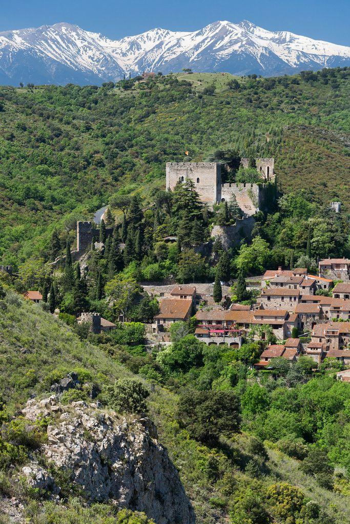 France, Pyrénées-Orientales, Castelnou