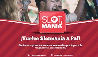 el forero jrvm y todos los bonos de deportes: paf Slotmanía sorteo tarjeta regalo Amazon 50 euro...