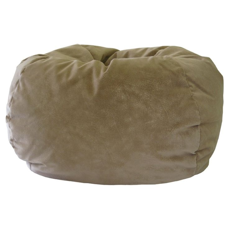 Gold Medal Kids Micro Fiber Suede Bean Bag Chair