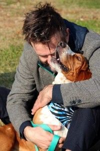 David Arquette Adopts Dog from Last Day Dog Rescue