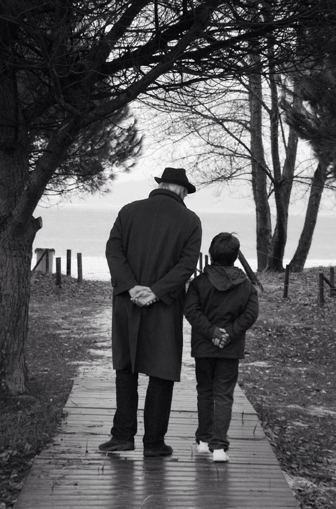 Abuelo y nieto by @belenfernandezfoto