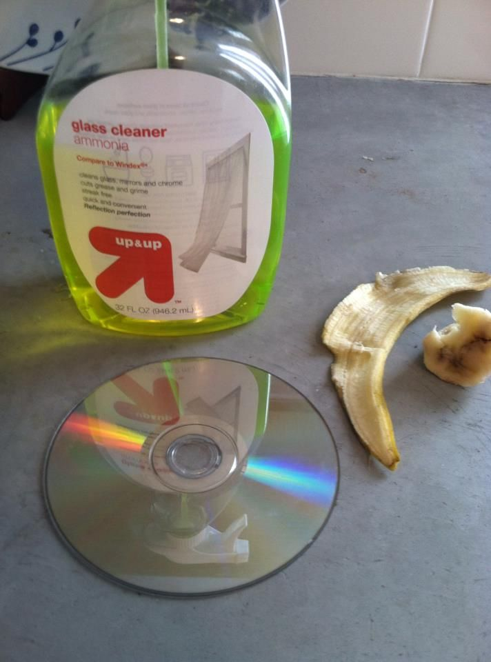 how to clean scratchs from cds