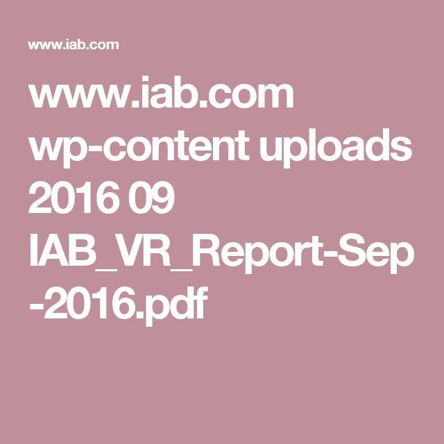 www.iab.com wp-content uploads 2016 09 IAB_VR_Report-Sep-2016.pdf