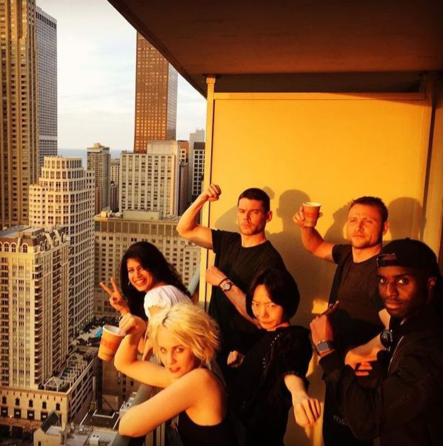 The Sense8 cast filming season 2.
