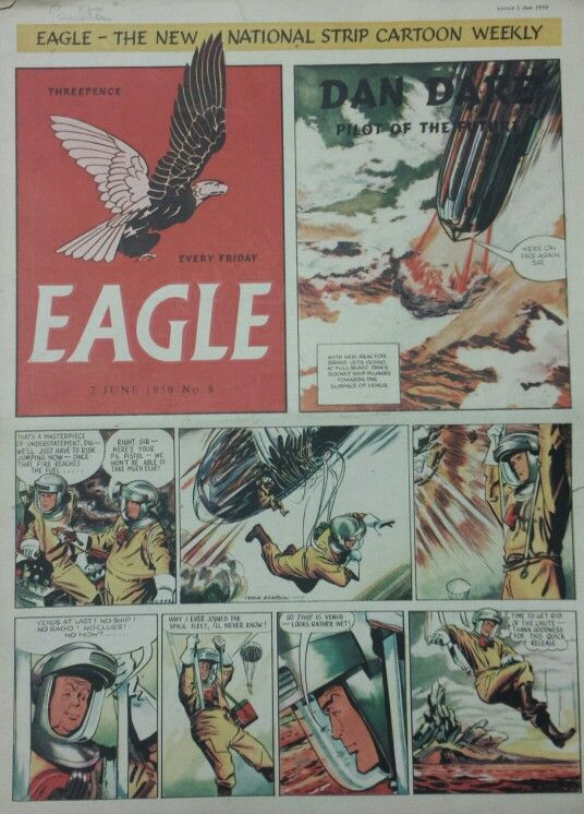Dan Dare from Eagle Comic #8